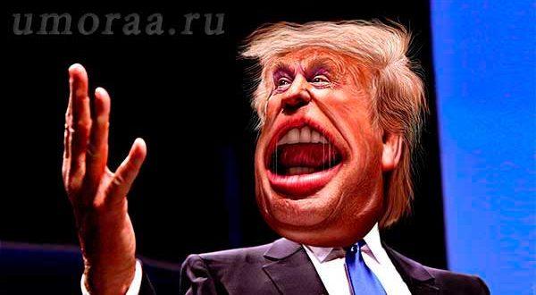 Свежие анекдоты про Дональда Трампа