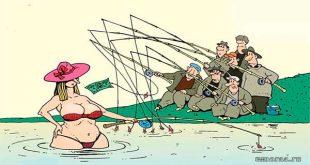Рыбацкие страсти — подборка прикольных анекдотов о рыбалке